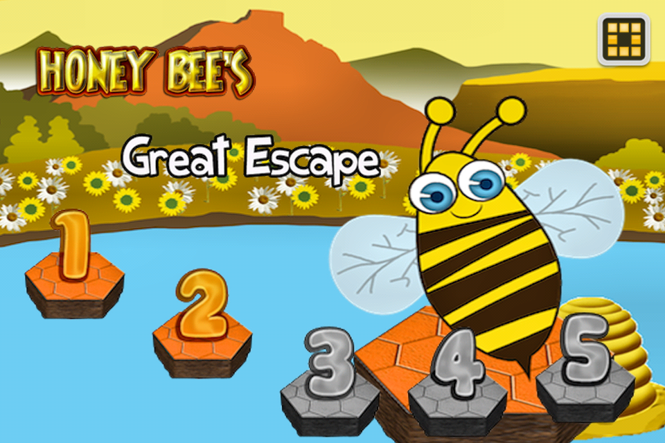 Screenshot Honey Bee's Great Escape – Best Super Fun Free Puzzle Game for Kids & Adults